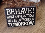 BEHAVE! Facebook Block